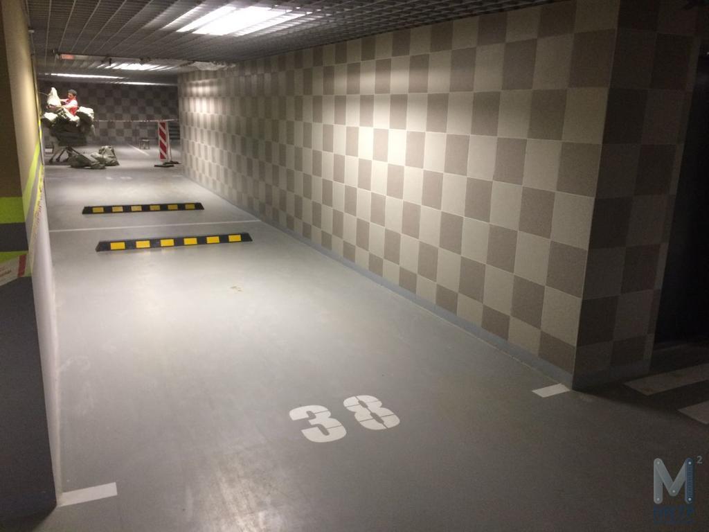 Ремонт паркинга в ЖК Легенда 18