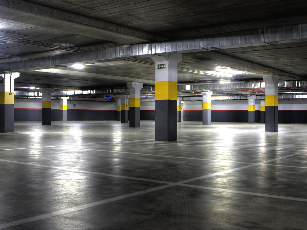 Ремонт паркинга в бизнесс центре
