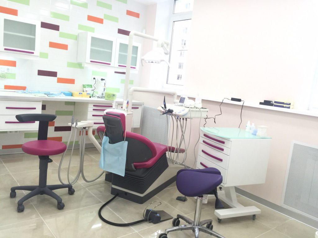 Ремонт кабинета стоматолога в современном стиле
