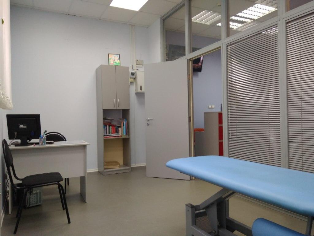 Кабинет терапевта в медицинском центре на Новых Черемушках