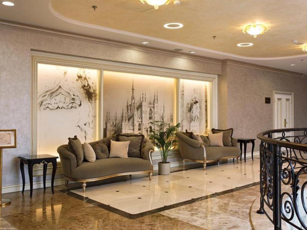 Ремонт холла гостиницы на Нижней Сыромятнической